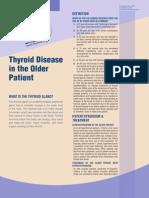 Thyroid Disorder Older