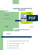 Presentacion Sobre Seguridad y Proteccion de La Informacion