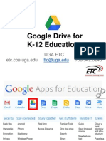 Google Drive for K-12 Education