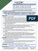 CV QA Engineer Israel Kliger 2013.pdf