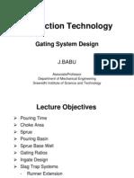 Gating System Design