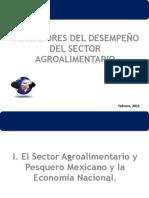 2011. Indicadores del desempeño del sector agroalimentario Mexico