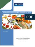 Genetiği Değiştirilmiş Organizmalar(GDO) ve Biyogüvenlik Yasa Tasarısı