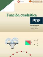 Teoria de Funciones Cuadraticas(1)