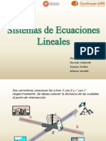 Teoria de Sistemas de Ecuaciones Lineales