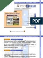 CURSO DE AGENTE DESARROLLO LOCAL