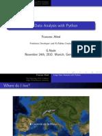 Large Data Analysis