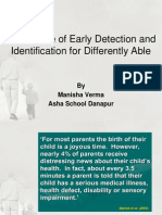 Benefits of Early Detection and Identification
