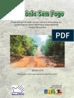 amazonia sem fogo, programa de formação técnica sobre as alternativas