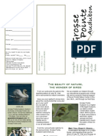Grosse Pointe Audubon Membership Brochure