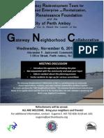 Gateway Neighborhood Collaborative Launch in Perth Amboy, NJ