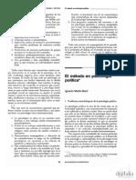 (1991)El método en psicología Política_Martín Baró