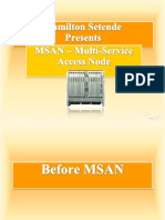 MSAN ( Multi-service access Node)