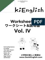 CD 4 Worksheets