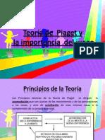 Teoría de  Piaget y  la importancia  del juego