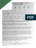 Celdas Lineales Como Un Ejemplo de Reuso de Frecuencia en FD
