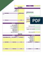 Cashflow 101 Worksheet