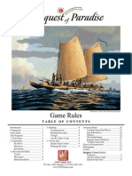 Conquest of Paradise Rulebook