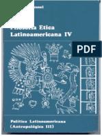 Filosofía ética latinoamericana IV