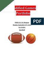 modified games portfolio