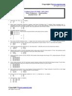 Latihan Soal Un Smp Mts 2012 Matematika