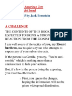 My Farewell to Israel Jack Bernstein