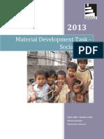 Report ESP Social Work Studies
