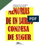 Memorias de Un Burro