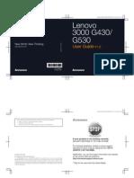 Lenova 3000 G430&G530 User Guide V1.0