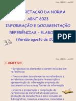 ABNT 6023