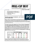 July 10 - The Small-Cap Beat