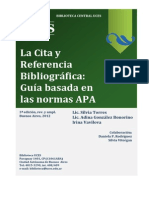 Normas APA Citas Bibliograficas 2012