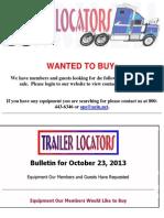 Bulletin 10-23-2013