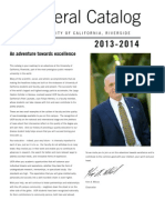 UCR General Catalog 2013-2014