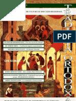 Traditia Ortodoxa 17 septembrie 2007