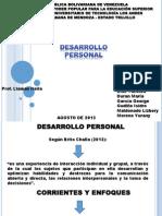 PRESENTACIÓN DESARROLLO PERSONAL