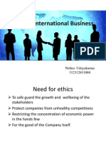 International Business Ethics
