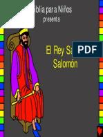 Wise King Solomon Spanish