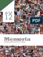 Memoria f if Ya 2012
