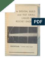 Motores Cohetes de Combustible Liquido