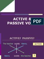 Lecture 1BActive Passive Voice