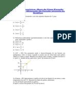 Zero função e obtenção pelo grafico