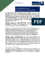 EU-Gemeinderäteinformation - Solidaritätsfonds Juni 2013