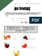 Ficha Frutas Cambiada