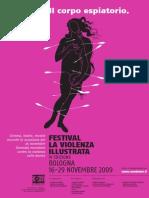 Locandina - Festival La violenza illustrata 2009