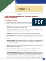 Metodologia Científica_Unidade IV