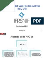 NIC 36 - Láminas -  Participantes - Septiembre  2013