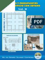 Costos  y presupuestos de_edificio con sótano Vol. II