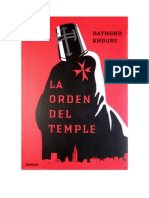 Sean Reilly y Tess Chaykin 1 - La Orden Del Temple - Raymond Khour