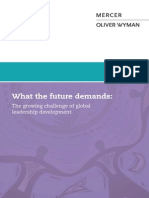 The Growing Challenge of Global Leadership Development